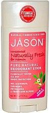 Deostick unparfümiert - Jason Natural Cosmetics Pure Natural Deodorant Stick Unscented — Bild N1