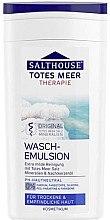 Düfte, Parfümerie und Kosmetik Waschemulsion für Gesicht mit Totes Meer Salz - Salthouse Face Wash Emulsion