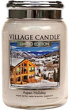 Duftkerze Aspen Holiday - Village Candle Aspen Holiday Glass Jar — Bild N1