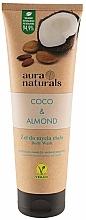 Düfte, Parfümerie und Kosmetik Feuchtigkeitsspendendes Duschgel mit Kokosnuss und Mandel - Aura Naturals Coco & Almond Body Wash