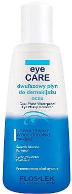 Augen-Make-up Entferner - Floslek Eye Care Dual-Phase Waterproof Make-Up Remover — Bild N1
