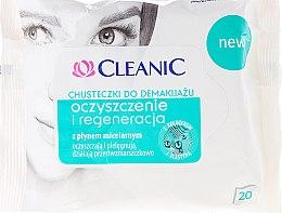 Düfte, Parfümerie und Kosmetik Reinigungstücher mit Mizellenwasser 20 St. - Cleanic Make Up Removal Wipes