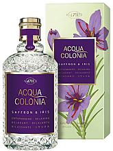Düfte, Parfümerie und Kosmetik Maurer & Wirtz 4711 Acqua Colonia Saffron & Iris - Eau de Cologne