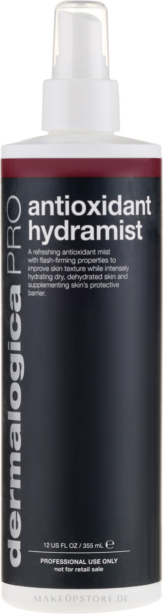 Erfrischender und antioxidativer Gesichtsnebel für den professionellen Gebrauch - Dermalogica Pro Antioxidant Hydramist — Bild 355 ml