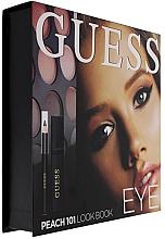 Düfte, Parfümerie und Kosmetik Make-up Set (Mascara 4ml + Kajalstift 0.5g + Lidschatten 12x1.96g) - Guess Beauty Peach 101 Eye Lookbook