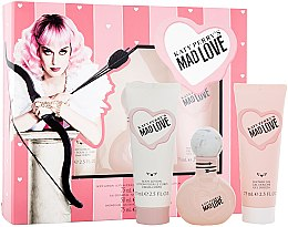 Düfte, Parfümerie und Kosmetik Katy Perry Katy Perry's Mad Love - Duftset (Eau de Parfum 50ml + Körperlotion 75ml + Duschgel 75ml)
