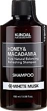 Feuchtigkeitsspendendes Shampoo mit weißem Moschus - Kundal Honey & Macadamia Shampoo White Musk — Bild N1