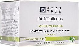 Mattierende Tagescreme SPF 15 - Avon True Nutra Effects — Bild N2
