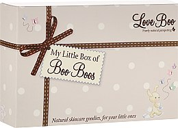 Düfte, Parfümerie und Kosmetik Pflegeset für Babys - Love Boo My Little Box Of Boo Boos (Körperlotion 50ml + 2in1 Duschgel und Shampoo 50ml + Körperbutter 15g + Badeschaum 50ml)