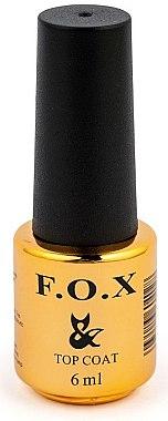UV Überlack ohne Klebeschicht - F.O.X Top Rubber No Wipe — Bild N1