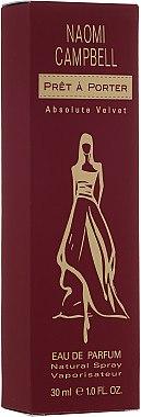 Naomi Campbell Pret a Porter Absolute Velvet - Eau de Parfum — Bild N1