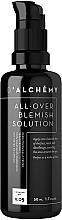 Düfte, Parfümerie und Kosmetik Leichtes Gesichtscreme-Gel für fettige und Mischhaut - D'alchemy All Over Blemish Solution