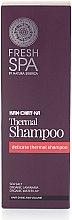 Düfte, Parfümerie und Kosmetik Thermal-Shampoo für mehr Glanz und Volumen mit Meersalz, Braunalge und Seerose - Natura Siberica Fresh Spa Kam-Chat-Ka Thermal Shampoo