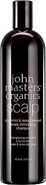 Shampoo zum Haarwuchs - John Masters Organics Spearmint & Meadowsweet Scalp Stimulating Shampoo — Bild N2