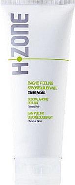 Ausgleichendes Peeling für fettiges Haar - H.Zone Bagno Peeling Seboriequilibrante — Bild N1