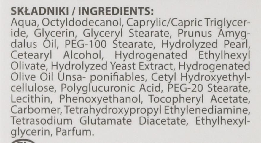 Straffende Pflege für Hals, Dekolleté und die Gesichtskonturen - BioDermic Pearl Glow Neck and Decolletage Cream — Bild N2
