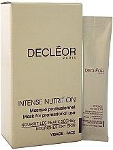 Düfte, Parfümerie und Kosmetik Feuchtigkeitsspendende Zwei-Phasen-Gesichtsmaske - Decleor Intense Nutrition Pro Mask