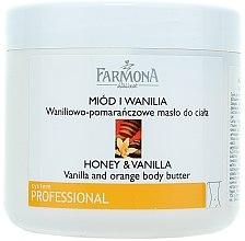 Düfte, Parfümerie und Kosmetik Massagebutter für den Körper Honig & Vanille - Farmona Honey & Vanilla