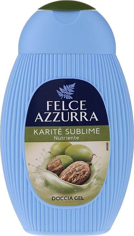 Feuchtigkeitsspendendes Duschgel mit Sheabutter - Paglieri Felce Azzurra Benessere Shower Gel — Bild N1