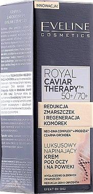 Glättungscreme für die Augenpartie - Eveline Cosmetics Royal Caviar Therapy Eye Cream — Bild N1
