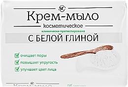 Düfte, Parfümerie und Kosmetik Kosmetische Creme-Seife mit weißem Ton - Neva Kosmetik