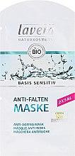 Düfte, Parfümerie und Kosmetik Gesichtsmaske mit Bio-Jojoba, Bio-Aloe Vera & Coenzym Q10 - Lavera Basis Sensitiv Anti-Ageing Mask Q10 (Mini)