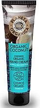 Düfte, Parfümerie und Kosmetik Feuchtigkeitsspendende Handcreme mit Bio Kokosöl - Planeta Organica Organic Coconut Hand Cream
