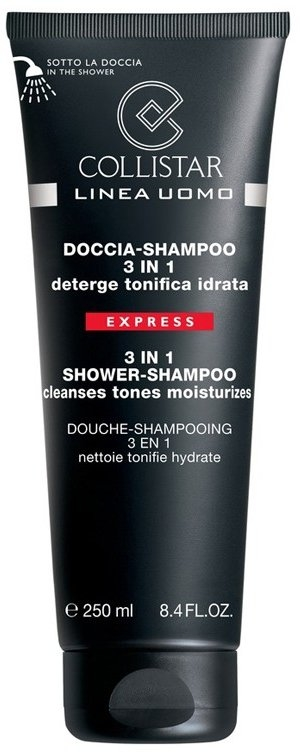 3 in 1 Duschgel und Shampoo für Männer - Collistar Linea Uomo Doccia-shampoo 3 in 1 — Bild N1