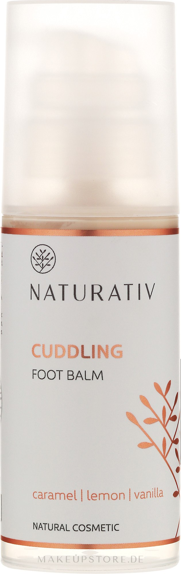 Fußcreme - Naturativ Cuddling Foot Balm — Bild 100 ml
