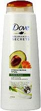 Düfte, Parfümerie und Kosmetik Kräftigungs Ritual Shampoo mit Avocadoextrakt - Dove Nourishing Secrets Invigorating Ritual Shampoo