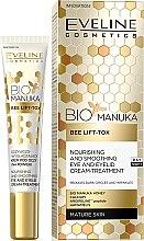 Düfte, Parfümerie und Kosmetik Pflegende und glättende Creme für die Augenpartie - Eveline Cosmetics Bio Manuka Bee Lift-tox