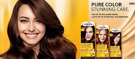 Tönungsshampoo - Schwarzkopf Palette Color Shampoo — Bild N5