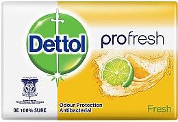 Düfte, Parfümerie und Kosmetik Antibakterielle Seife mit erfrischenden Zitrusfrüchten - Dettol Fresh Antibacterial Soap