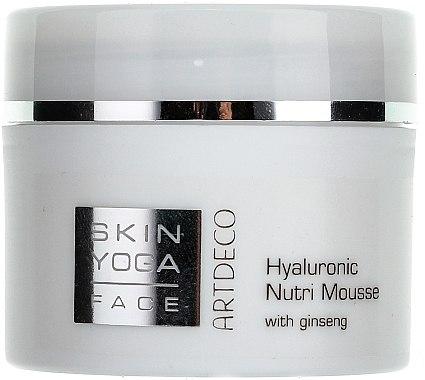 Feuchtigkeitsspendende und nährende Gesichtscreme mit Hyaluronsäure und Ginseng - Artdeco Hyaluronic Nutri Mousse with Ginseng — Bild N1