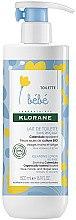 Düfte, Parfümerie und Kosmetik Reinigende feuchtigkeitsspendende Körperlotion für Kinder - Klorane Bebe No-Rinse Cleansing Lotion