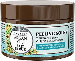 Düfte, Parfümerie und Kosmetik Salzpeeling für den Körper mit Bio Arganöl - GlySkinCare Argan Oil Salt Scrub
