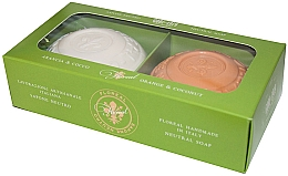 Düfte, Parfümerie und Kosmetik Seifenset Orange und Kokosnuss - Gori 1919 Floreal Orange & Coconut (Seife 2x150g)