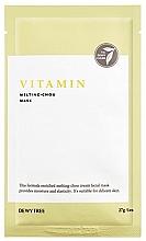 Düfte, Parfümerie und Kosmetik Gesichtsmaske mit Vitamin C - Dewytree Vitamin Melting Chou Mask