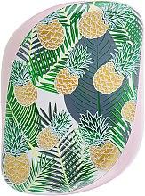 Kompakte Haarbürste - Tangle Teezer Compact Styler Brush Palms & Pineapples — Bild N3