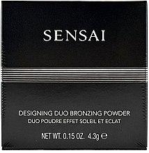 Düfte, Parfümerie und Kosmetik Bronzepuder mit zwei Farbnuancen, 24K Gold- und Perlenpartikeln - Kanebo Sensai Designing Duo Bronzing Powder