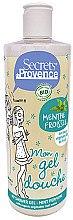 Düfte, Parfümerie und Kosmetik Duschgel Minze - Secrets De Provence My Shower Gel Mint Perfume