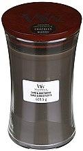 Duftkerze im Glas Sand & Driftwood - WoodWick Hourglass Candle Sand & Driftwood — Bild N4