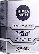 "Düfte, Parfümerie und Kosmetik After Shave Balsam ""Silver Protect"" - Nivea For Men Silver Protect After Shave Balm"