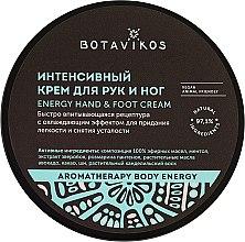 Düfte, Parfümerie und Kosmetik Intensive Hand- und Fußcreme - Botavikos Energy Hand&Foot Cream