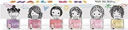Düfte, Parfümerie und Kosmetik Kinder-Nagellack-Set 6x7ml - Snails Mini Bebe