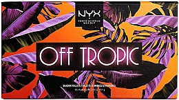 Düfte, Parfümerie und Kosmetik Lidschattenpalette - NYX Professional Off Tropic Shadow Palette