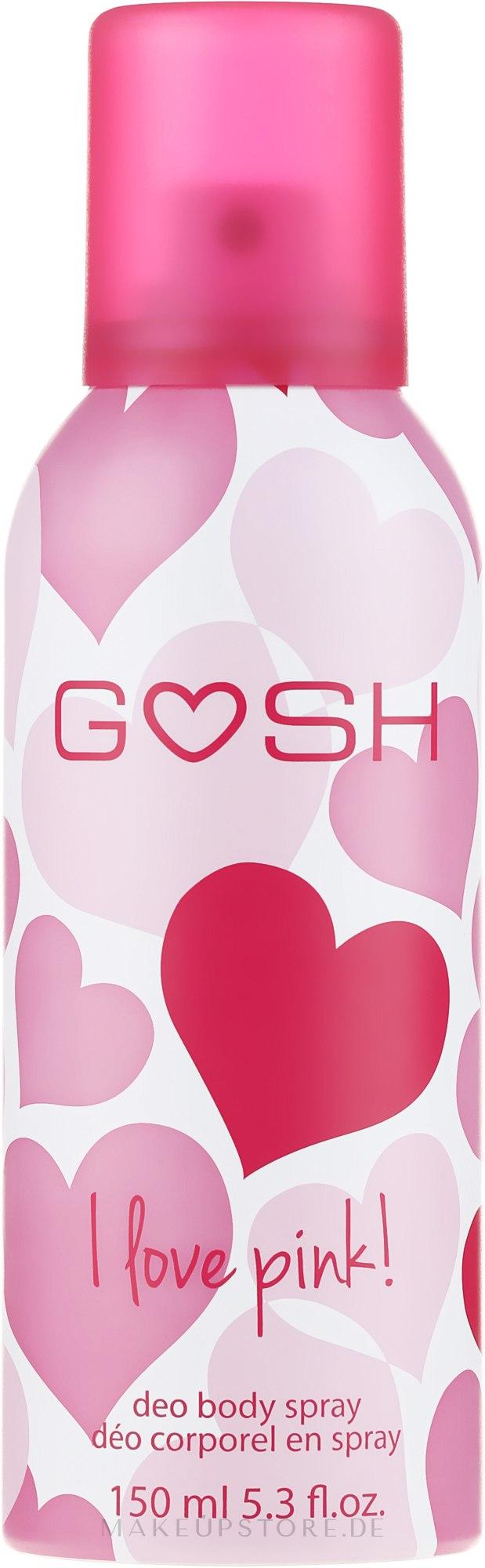 Deospray - Gosh I Love Pink Deo Body Spray — Bild 150 ml