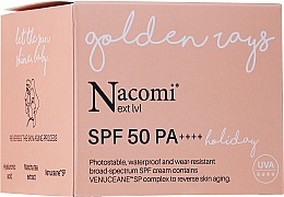 Düfte, Parfümerie und Kosmetik Sonnenschutzcreme für das Gesicht SPF 50 - Nacomi Next Level Holiday SPF 50 PA++++