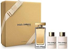 Düfte, Parfümerie und Kosmetik Dolce & Gabbana The One - Duftset (Eau de Toilette 100 ml + Körperlotion 100 ml + Duschgel 100 ml)