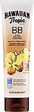 Düfte, Parfümerie und Kosmetik Sonnenschutzlotion für Gesicht und Körper SPF 30 - Hawaiian Tropic BB Cream Sun Lotion Face And Body SPF 30